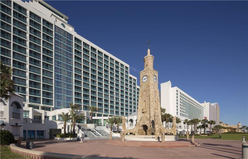 View of the Hilton Daytona Beach